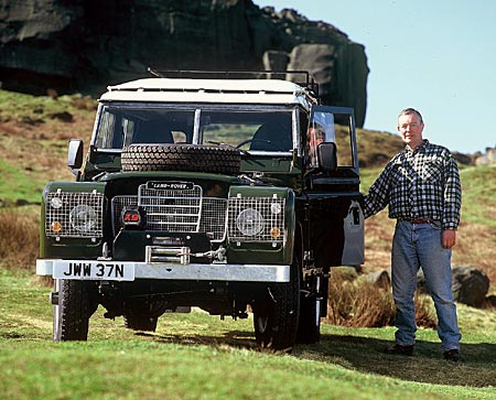 Cover photo from Land Rover Owner Magazne