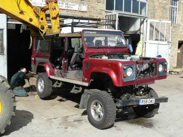 Land Rover Chassis swaps | Jake Wright Ltd | Specialists in Land