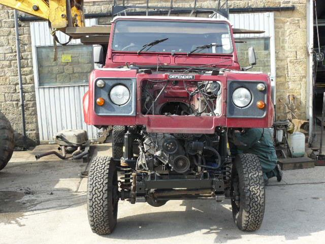 Land Rover Defender Engine Swap Cost