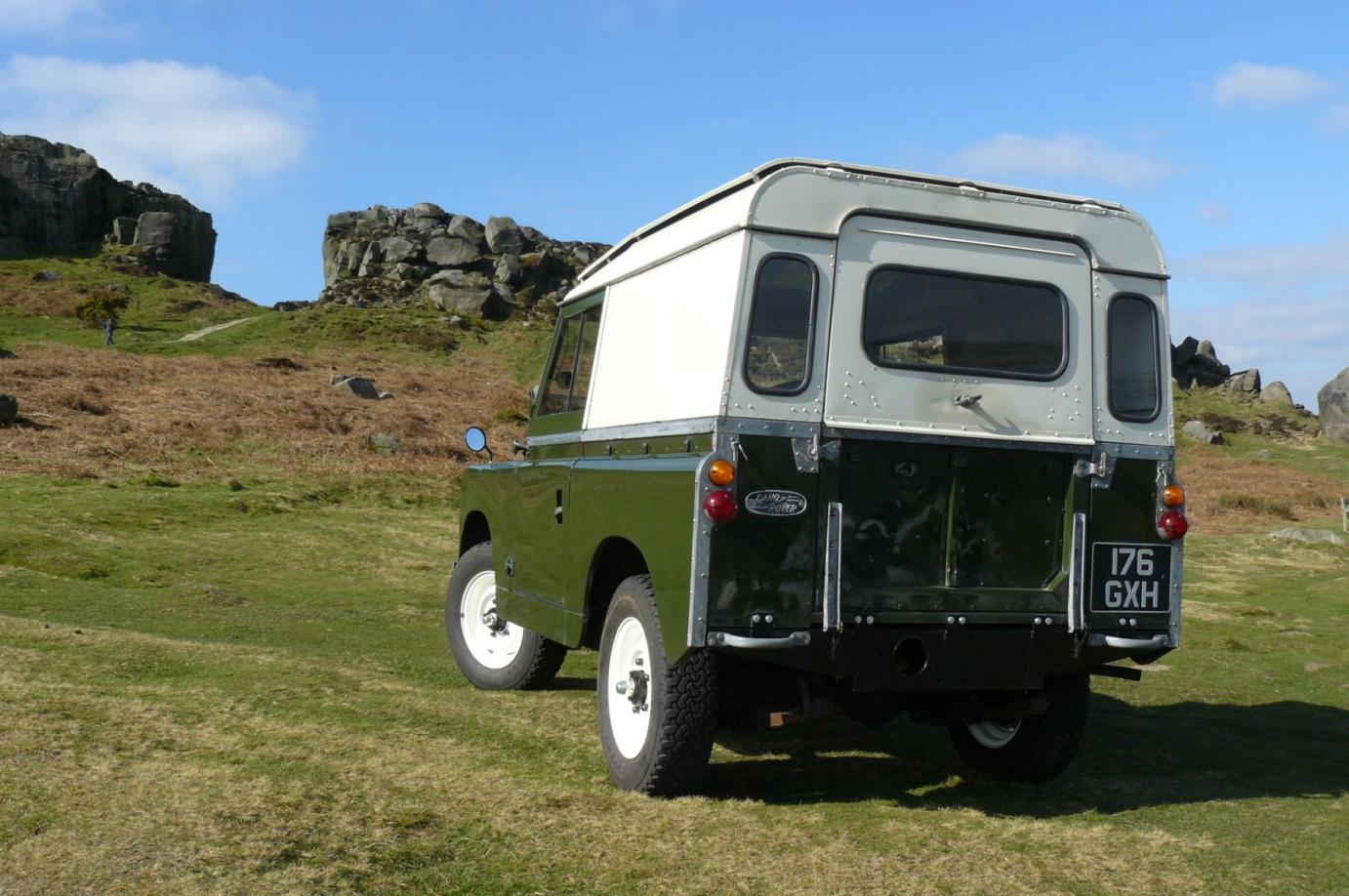Land Rover Series 2a   1963  Sorry Now Sold To