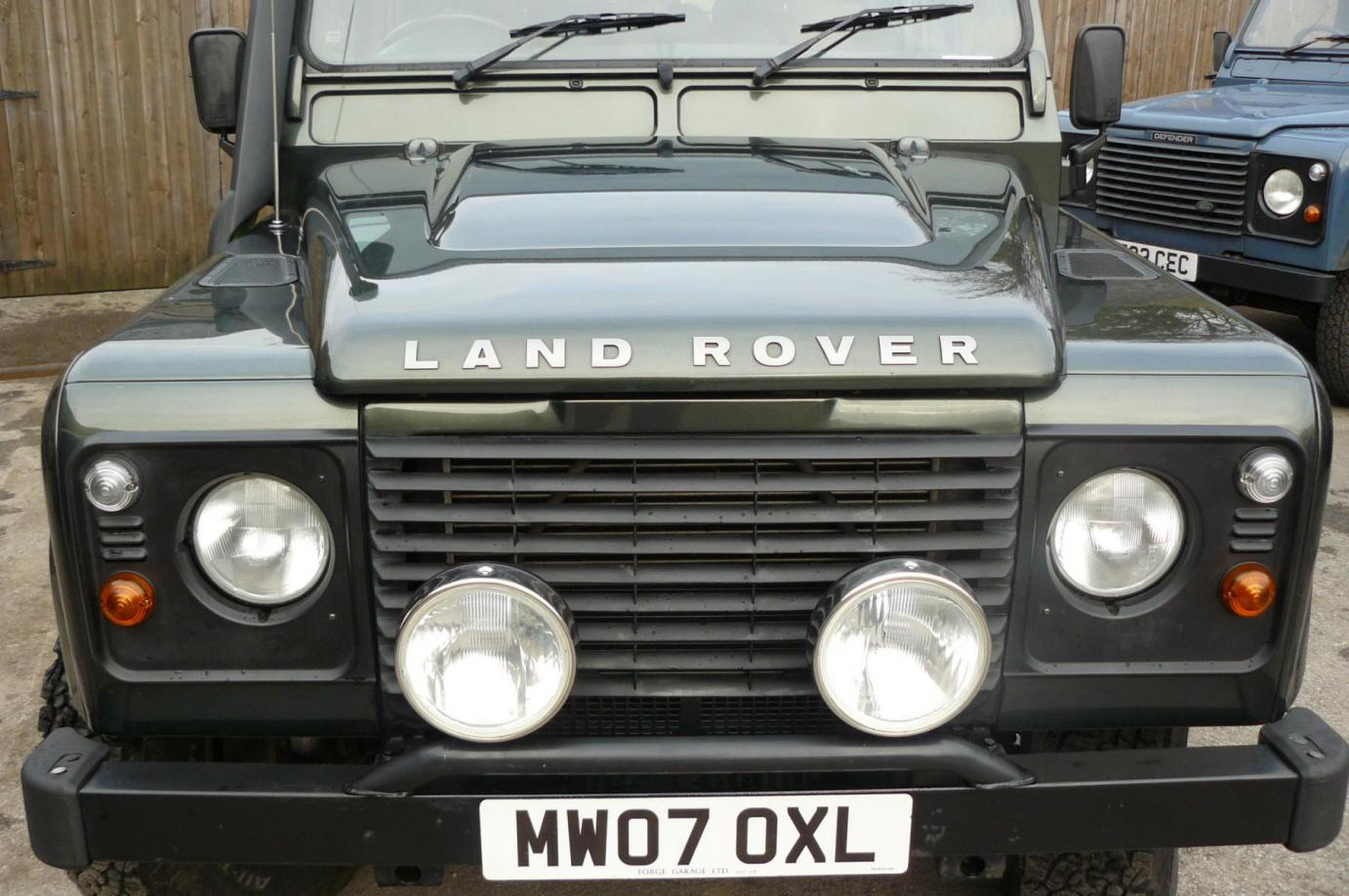 Land Rover Defender 110 County Station Wagon Jake Wright
