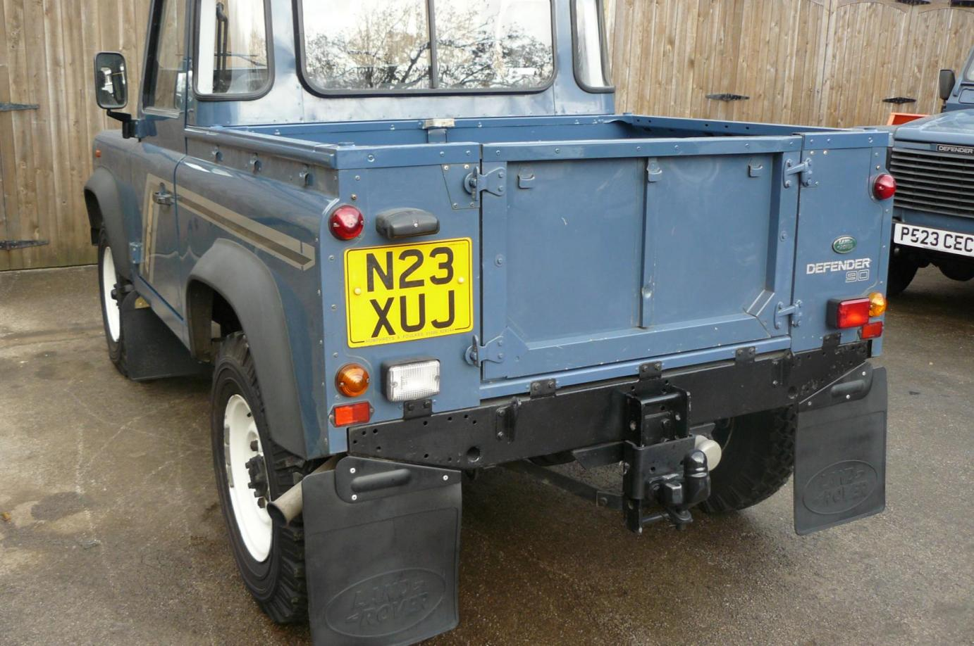 Land Rover Defender 300 Tdi With Low Miles Jake Wright Ltd 90 Pick Up For Sale