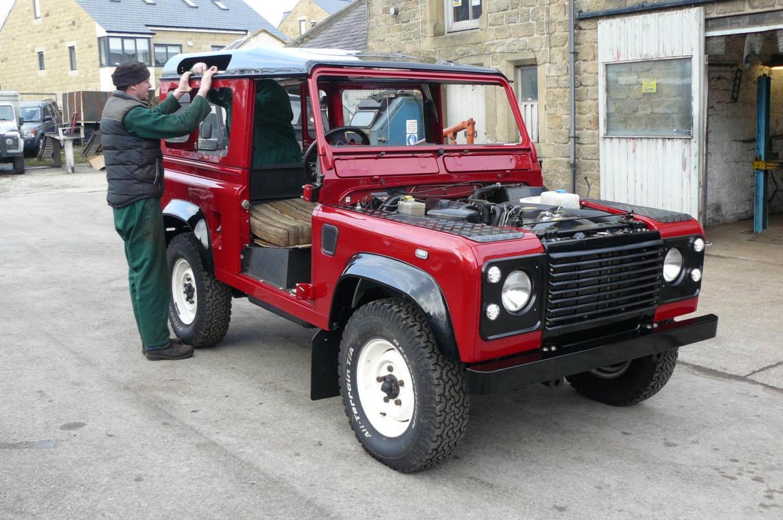 1994 Land Rover Defender 90 70th Anniversary Poa Jake