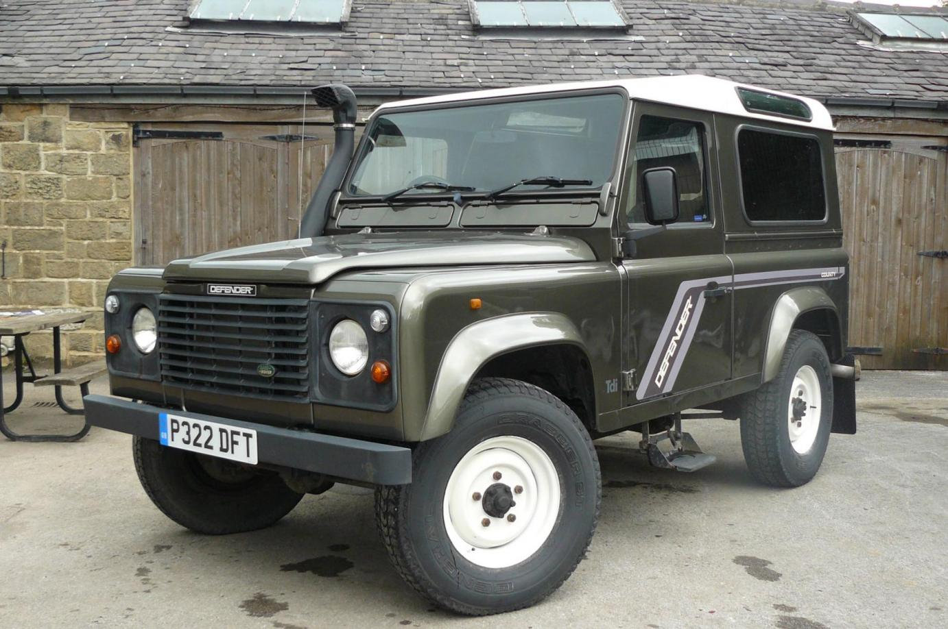 Land Rover Defender For Sale 90 300 Tdi County Style