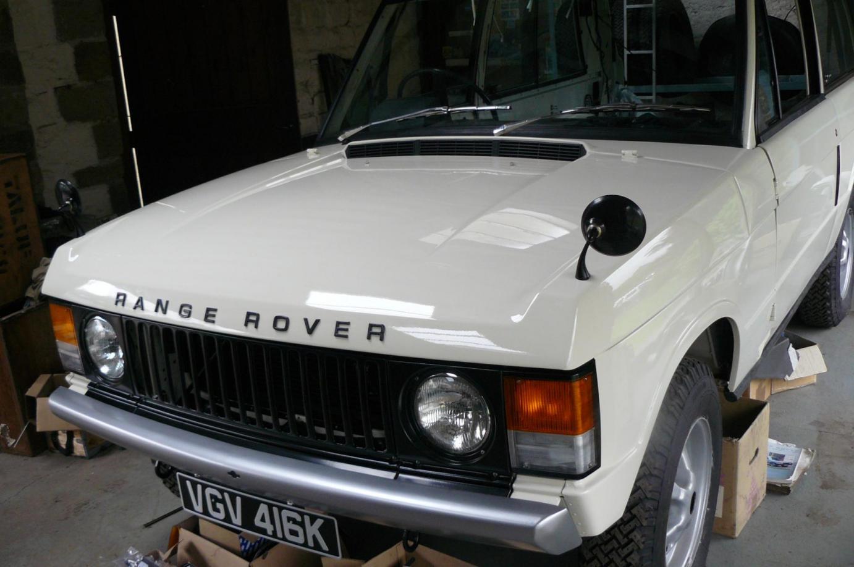 Range Rover Classic Restoration Jake Wright Ltd