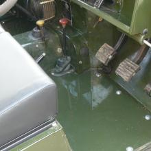 land rover series 2a for sale interior