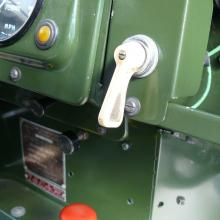 The land rover series 2 indicator switch was a self cancelling type