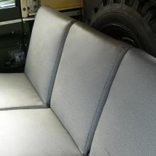 land rover elephant hide seats were reconditioned and refitted retaining the original spring internals