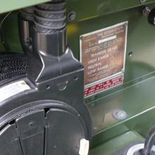 The land rover heater was the original smiths type