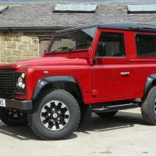 Jake Wright's 70th anniversary land rover 90 is now complete with the side steps
