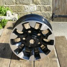 land rover special diamond turned 70th wheel rim from jake wright's
