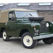 The land rover series 2a must be one of the best land rover's ever built