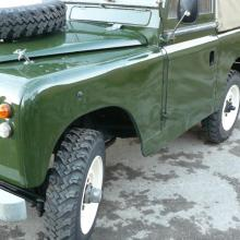land rover series 2a were used all over the world