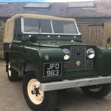 land rover series 2 was first introduced in 1959