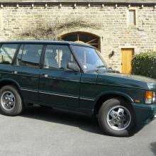 4 door range rover classic brookands green