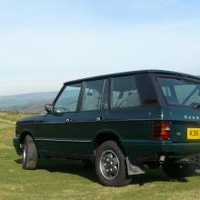 range rover classic two door