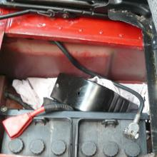 LAND ROVER TDI BATTERY