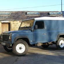 110 300 tdi land rover with a hardtop is very useful for all manners of jobs