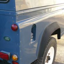 land rover 300 110 showing the side panel which is in excellent condition