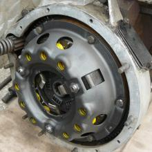 "A reconditioned  9"" clutch was fitted to the 107 series one  land rover 2 litre engine"