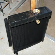 The Land rover  107 radiator started leaking so that was reconditioned by a specialist