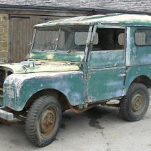 "LANd rover 80"" series one"
