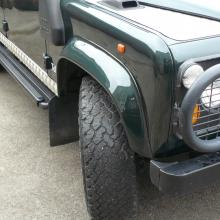 Left hand Drive Land rover defender at jake wright's is idea for export to canada