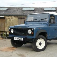 land rover 300tdi in jake wright's yard