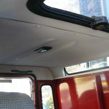 land rover defender roof lining