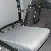 LAND ROVER DEFENDER REAR SEAT