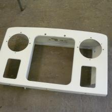 The land rover front panel was in good condition