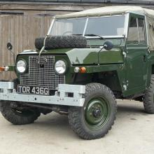 Land rover series 2a lightweight
