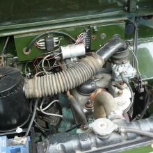2.25 engine in the lightweight land rover
