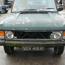 range rover classic 2 door before restoration