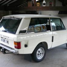 The range rover 2 door classic has now been finished and is here in our showroom