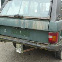 range rover classic 2 door rear end before restoration