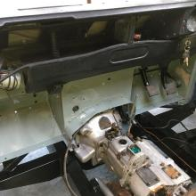 land rover series 3 short wheelbase rolling chassis