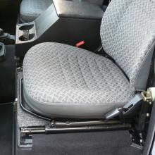 The seats are in great as new condition in this land rover