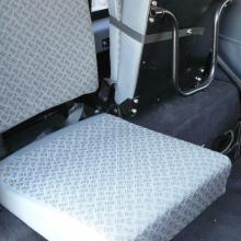 Land rover rear seat is shown here and is in as new condition