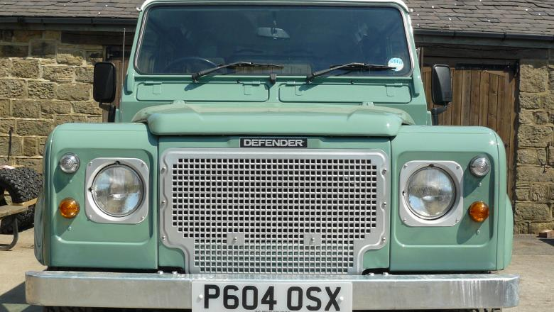 Landrover defender Heritage style grill