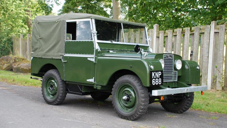 """LAND ROVER 80"""" SERIES 1"""