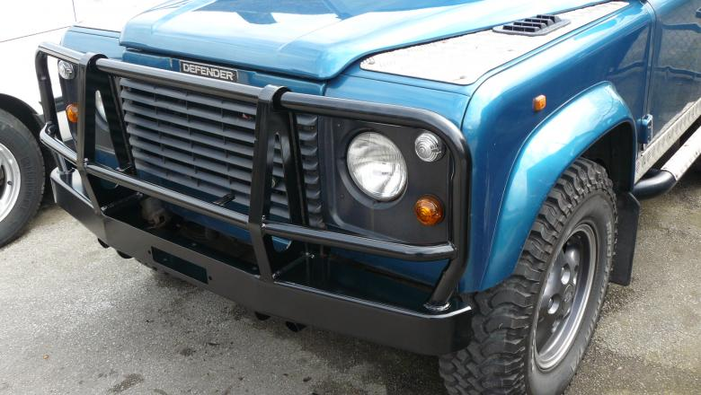 Landrover defender Warne Winch