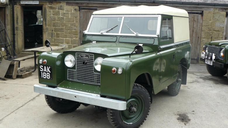 land rover series 2 restoration completed jake wright ltd specialists in land rover and. Black Bedroom Furniture Sets. Home Design Ideas