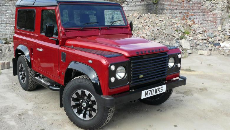 Land Rover defender 70th anniversary edition by jake wright's is now ready to sell