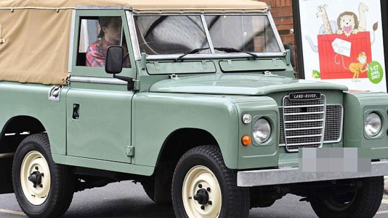 david beckham land rover series 3