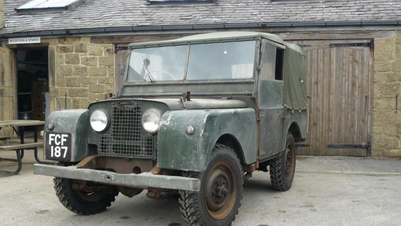 80 land rover IN YORKSHIRE