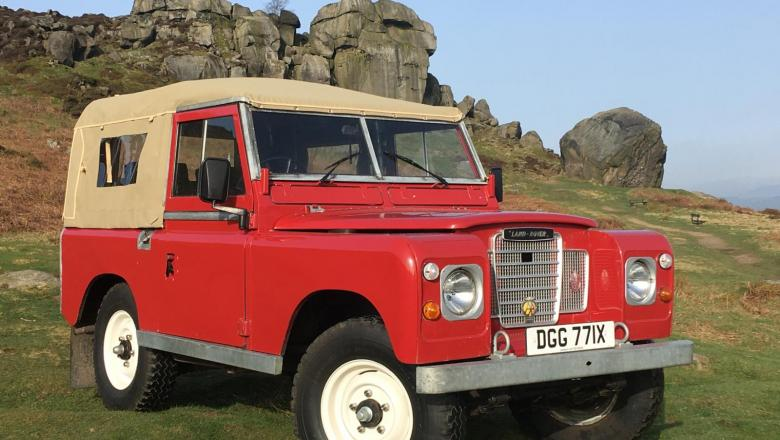 land rover Series 3 Classic seen on Ikley Moor