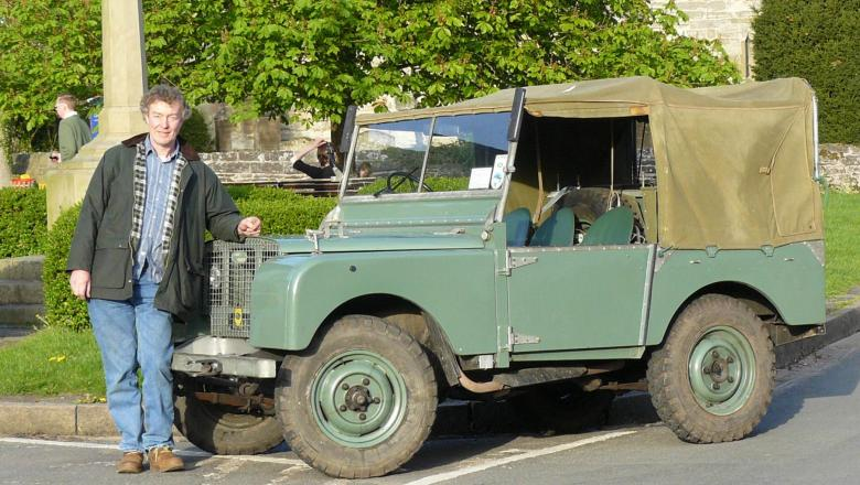 "LAND ROVER 80"" series one with John Wright"