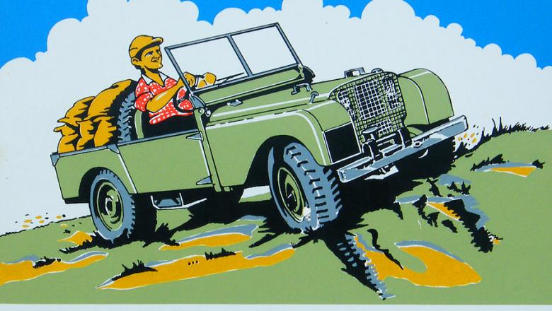 LAND ROVER CARTOON