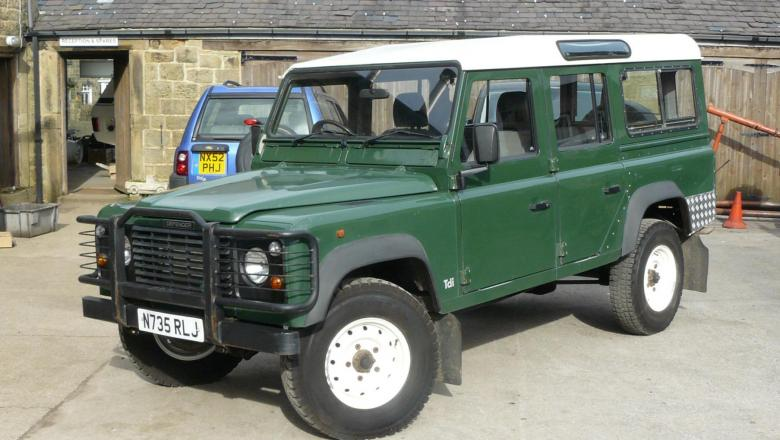 LAND ROVER 300 TDI 110 STATION WAGON IN YORKSHIRE